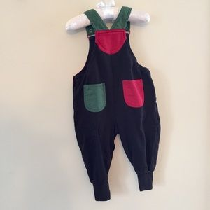 Gymboree New Reindeer Corduroy Overall 6-12 Months NWT